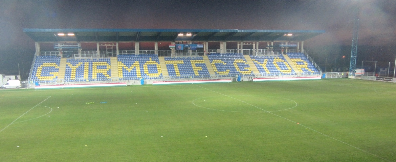 Alcufer Stadion, Györ, Hungary